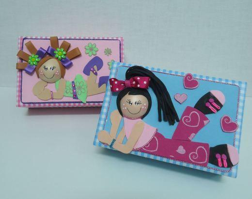 Cajas de zapatos decoradas con goma eva imagui - Cajas de zapatos decoradas ...