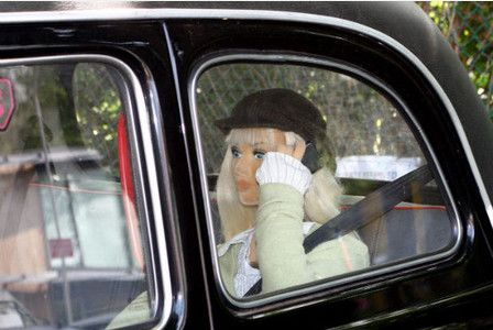 Noel Edmonds uses mannequin from Bristol taxi to record chart hit