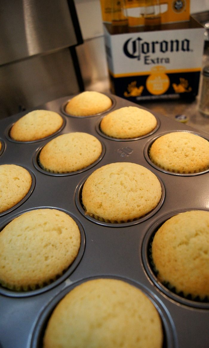 Just a Sliver: Corona Cupcakes