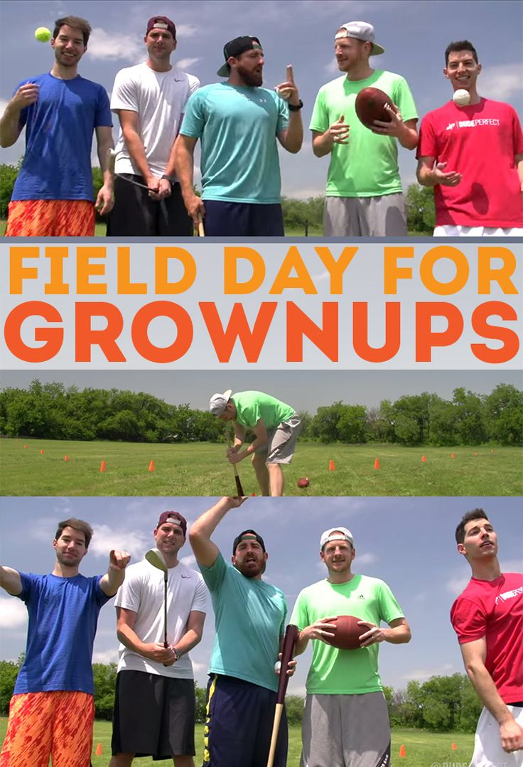 Why Field Day for Grownups should be a THING! Fun idea for family reunions, FHE, neighborhood parties!