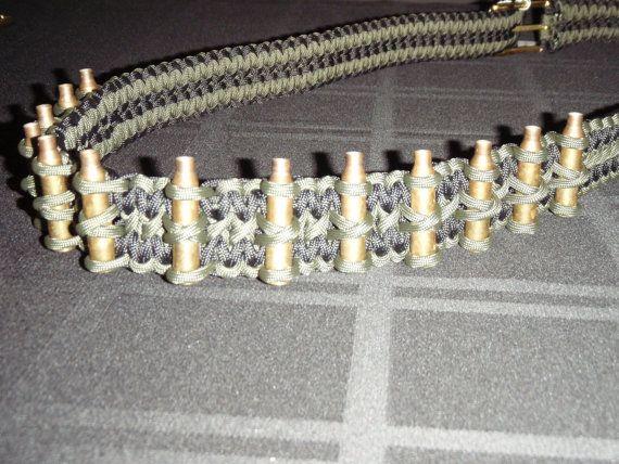 Paracord Bullet Belt