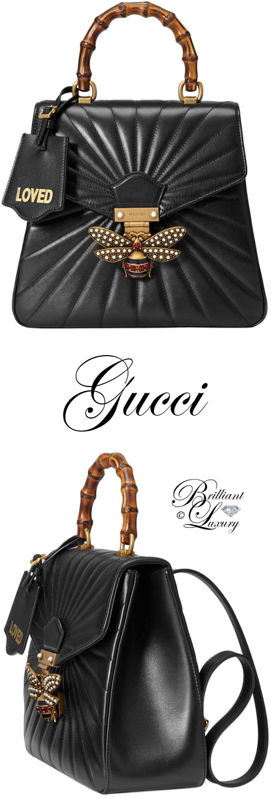 Brilliant Luxury ♦ Gucci Queen Margaret quilted leather backpack