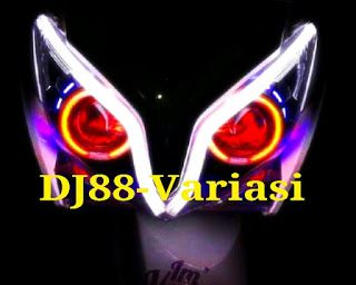 DJ88-Variasi  Toko Aksesories TERLENGKAP dan TERPERCAYA se-INDONESIA: Projie Honda Vario 125 AES6 Merah merah biru with ...