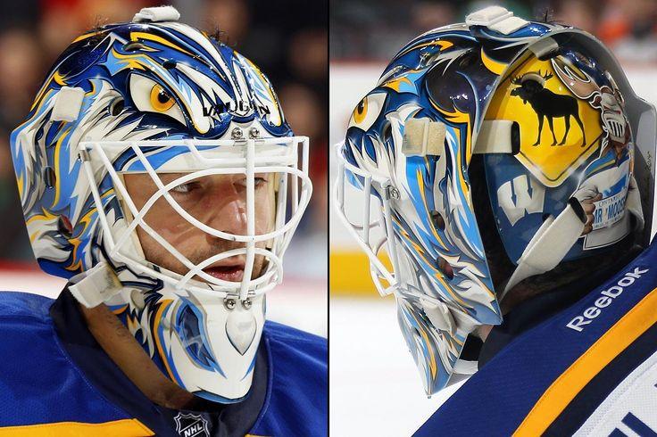 NHL Goalie Masks by Team Goalie mask, Goalie, Mask