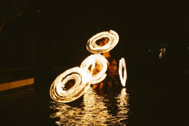 Ring of fire... #Fiji #fire
