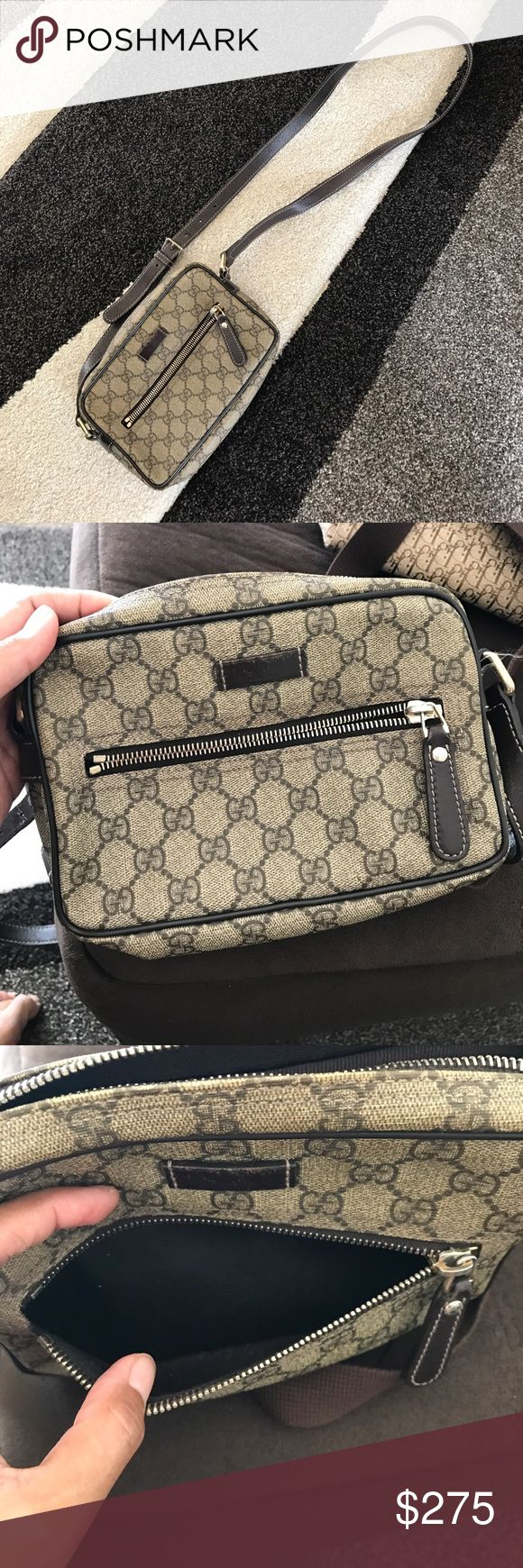 Authentic Gucci Messenger Bag Normal Wear. Good Condition. Authentic. Accepting Offers. Thanks! Gucci Bags Crossbody Bags