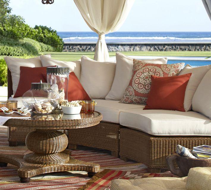 outdoor furniture Pottery Barn