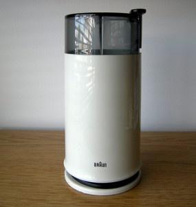 My Braun coffee grinder is still my jam