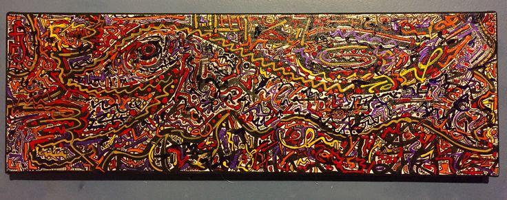 Abstract XXV acrylic on canvas