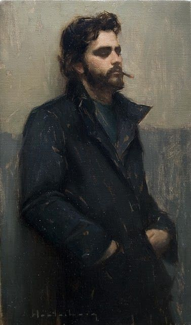 Aaron Westerberg, 1974, California  The second coming of John Singer Sargent, without the jewels and lace.