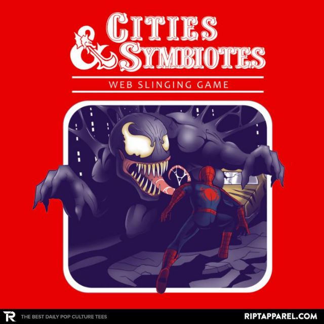 Cities & Symbiotes T-Shirt - Venom T-Shirt is $13 today at Ript!
