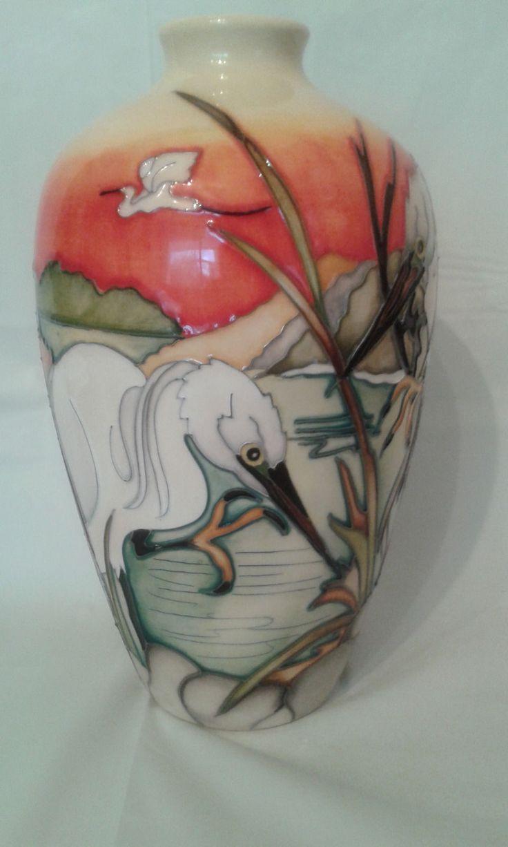 854 best moorcroft pottery images on pinterest antique vases stunning moorcroft vase life in the estuaries ebay reviewsmspy