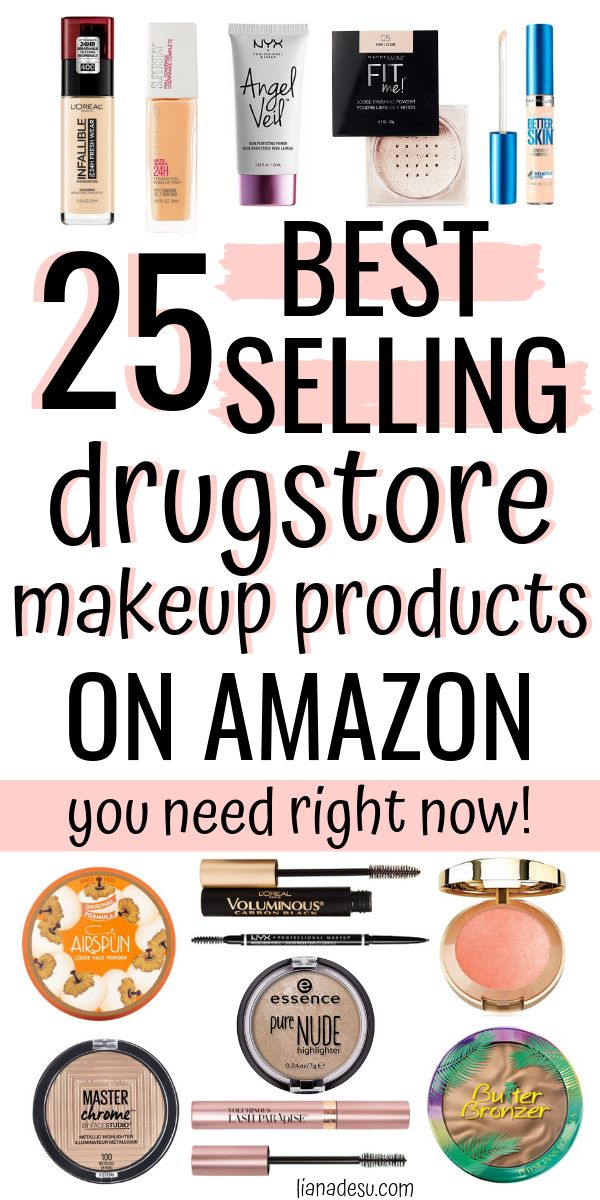 25 Best-Selling Drugstore Makeup Products on Amazon (to Buy Right Now