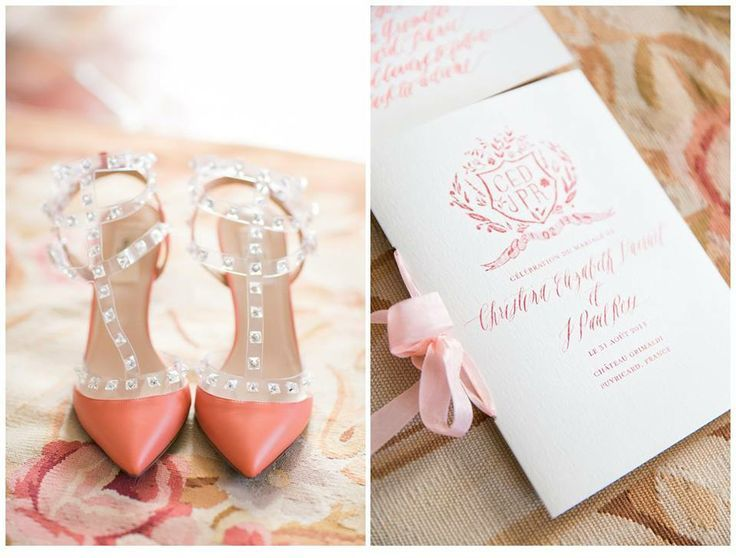 Coral Wedding Ideas Cheerful Inspiration Shoes And