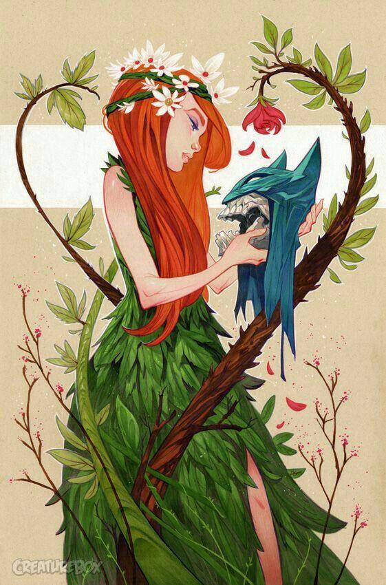 Poison Ivy art