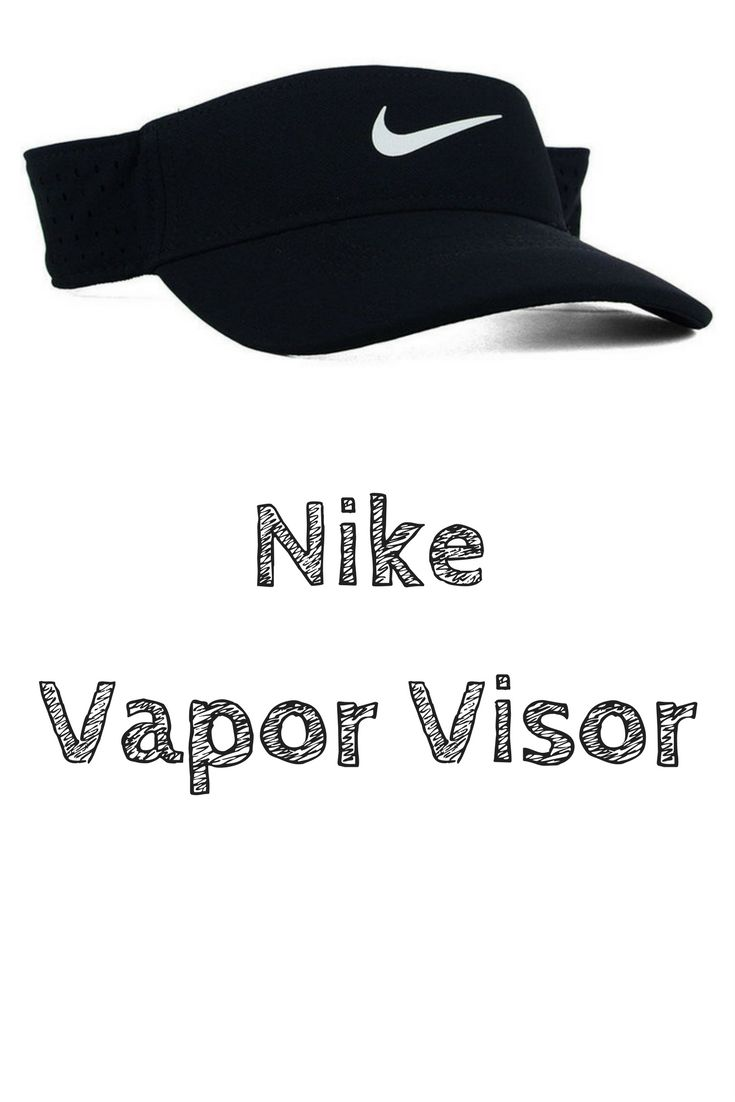 Nike Nike Vapor Visor The Nike Vapor visor is a versatile look, with construction that improves comfort and reduces weight. This visor uses Dri-fit technology to wick away moisture from the body to the fabric surface where it can evaporate on hot summer days. #affiliate