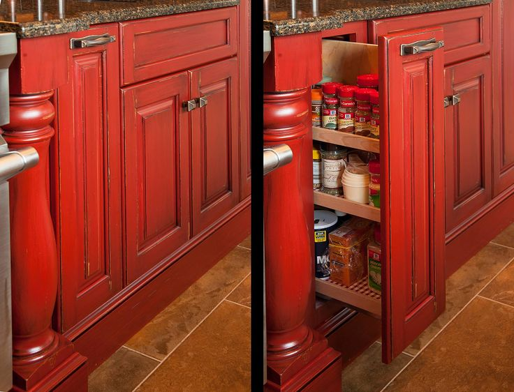 Rustic Red Kitchen Cabinets 77 best cabinet accessories images on pinterest | mullets, kitchen