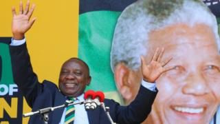 Cyril Ramaphosa: ANC impatient over Jacob Zuma future       11 February 2018                            Image copyright                  Reuters             Image caption                                      Mr Ramaphosa's speech marked 100 years since the birth of Nelson Mandela          ...