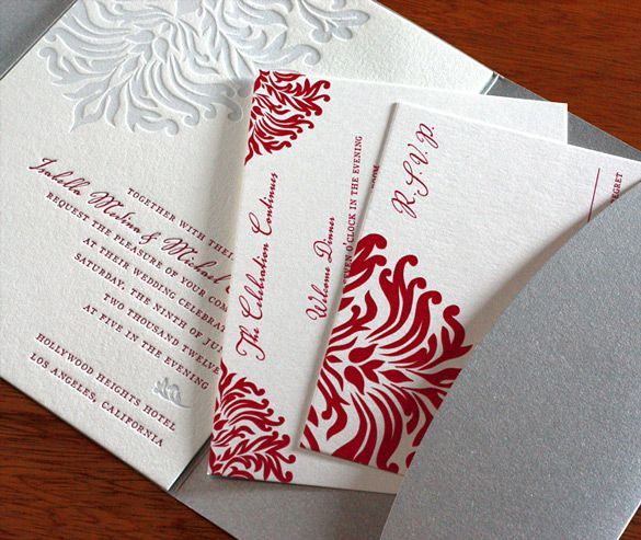 If you have been looking for an elegant and romantic wedding invitation design for your upcoming celebration, meet Isabella! Isabella radiat...