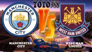 Prediksi Bola Jitu Manchester City VS West Ham United 3 Desember 2017