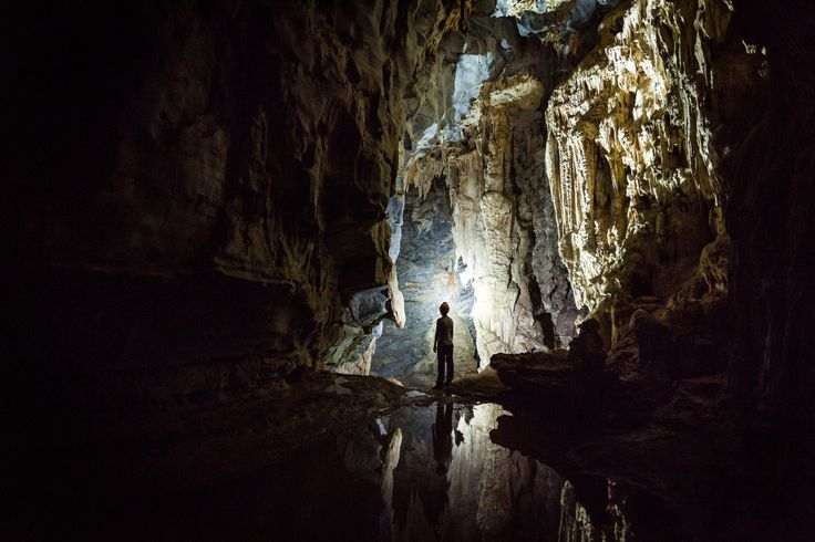 JULY 3, 2017. Underground exploration  By Denys Kutsevalov.  Sơn Đoòng Cave in Vietnam is the largest cave in the world. A local farmer discovered the cave in the early 1990s, but it wasn't fully explored until 2009. Three miles long and 65 stories high in places, the cave has its own weather system.