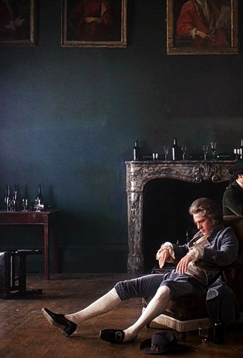 Barry Lyndon [1975] directed by Stanley Kubrick -- Every single frame of this film could be a painting. Gorgeous.