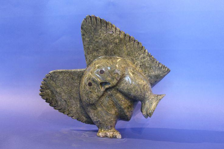Nuna Parr - Owl 13 x 15 x 5