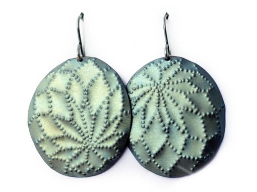 Flourish titanium Earrings