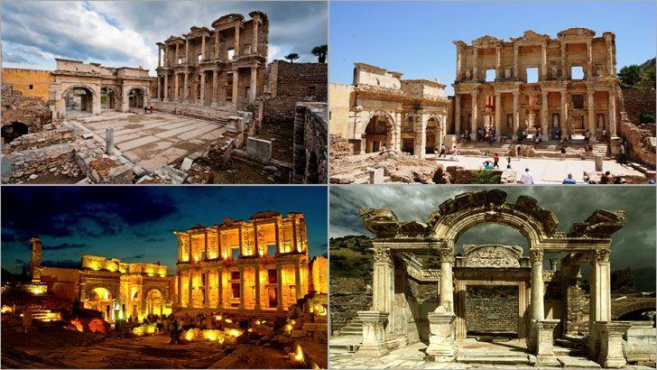 Efes, İzmir ilimizin Selçuk kenti sınırlarında ve Anadolu'nun batı kıyısında bulunan, eski dönemlerde önemli bir Roma ve antik Yunan kenti olan ilçedir. Ionia'nın (klasik Yunan dönemi) 12 şehrinden biri olan Efes'in kuruluşu MÖ 6000 yılına kadar gitmektedir.