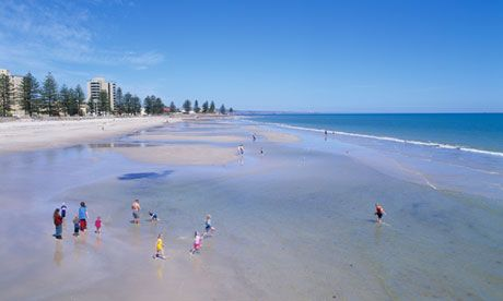 10 Day Trips from ADELAIDE - Australia - On the Picture - GLENELG Beach