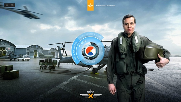Royal Airforce - Base-X (update) by INDG , via Behance