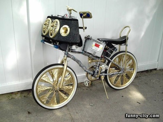 pimp my bike omg i'd totally ride this