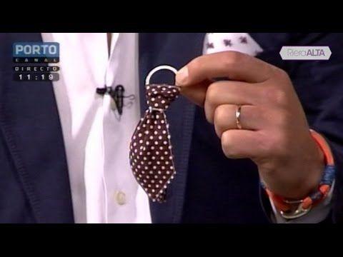 Sugestão para o Dia do Pai: Porta-Chaves Gravata - Costura com Riera Alta - YouTube