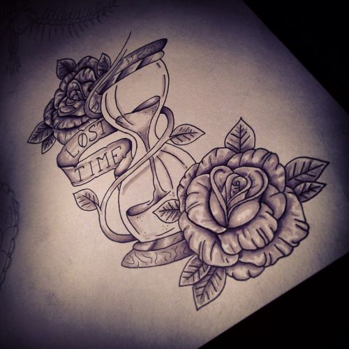 33 best bad ass tattoos images on pinterest tatoos cool for Amazing drawings of roses