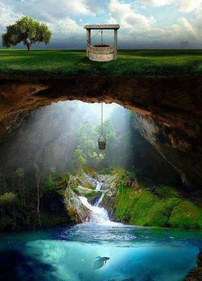 Secret Well Artwork  http://www.goodlolz.com/?p=3221