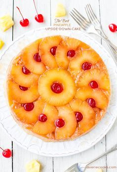 The Best Pineapple Upside-Down Cake. Perfect for summer gatherings.