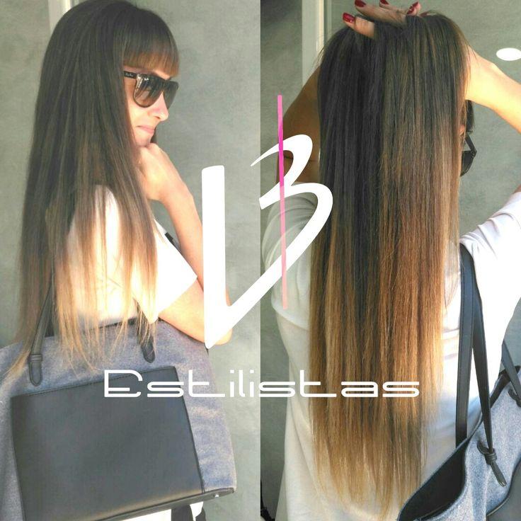 El BackStage de Tu día a día  #hairstyle #californianas #xxl #melenasxxl #longhair #balayagehair #colors #colorista #estilista #peluqueria #styl #alcobendas #room #backstage #model #beauty #laurabernalestilistas