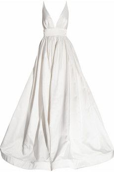 Beautiful Kaufmanfranco silk satin gown