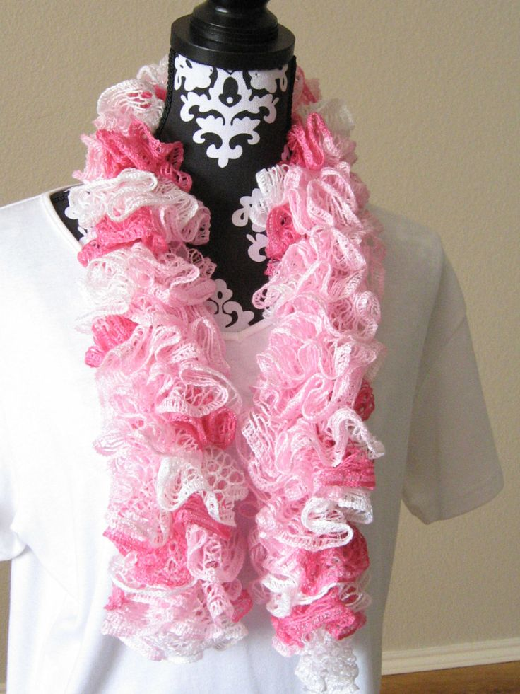 Free Crochet Pattern For A Ruffle Scarf : 17 Best images about crochet on Pinterest Basic crochet ...