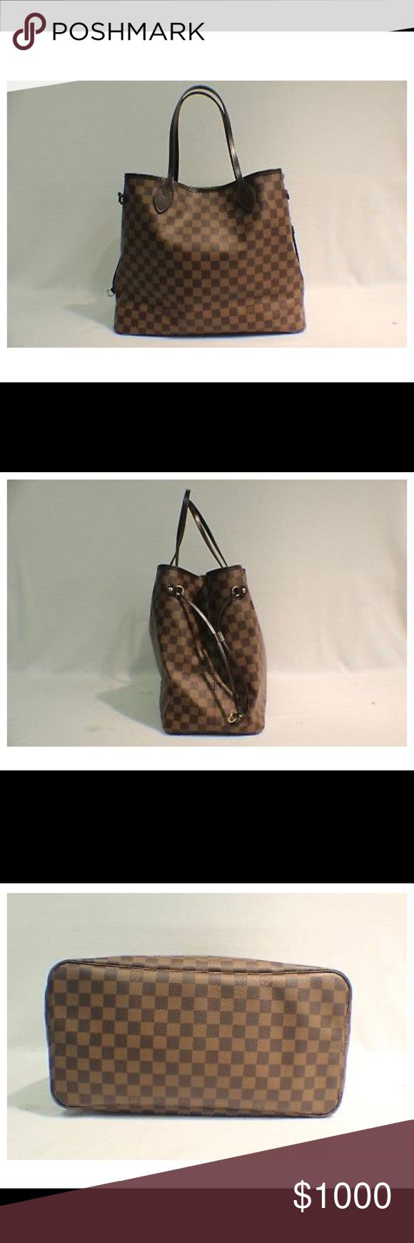 Louis Vuitton Neverfull GM (no pouch) Excellent used condition LV GM Neverfull - only used a handful of times! Comes with receipt. I don't have a Pay Pal account but accept Venmo as payment. Louis Vuitton Bags Shoulder Bags