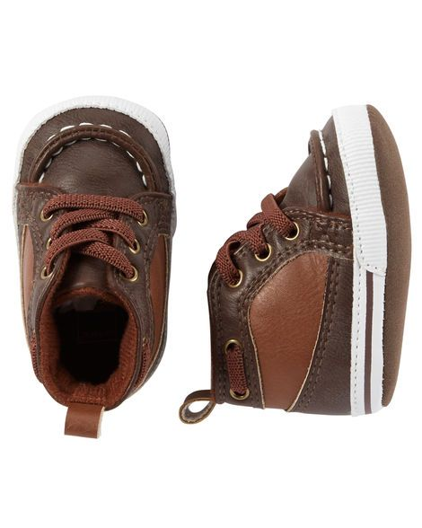 Baby Boy Carter's High Top Crib Shoes from Carters.com. Shop clothing &…