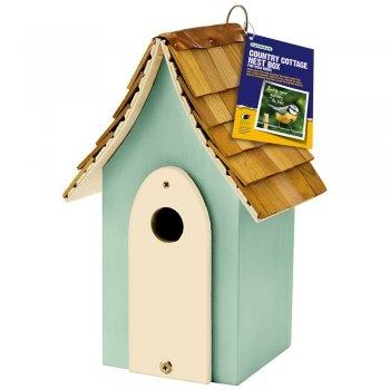 Gardman Country Cottage Nest Box in Green