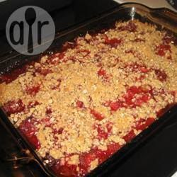Gâteau fraises-rhubarbe @ qc.allrecipes.ca