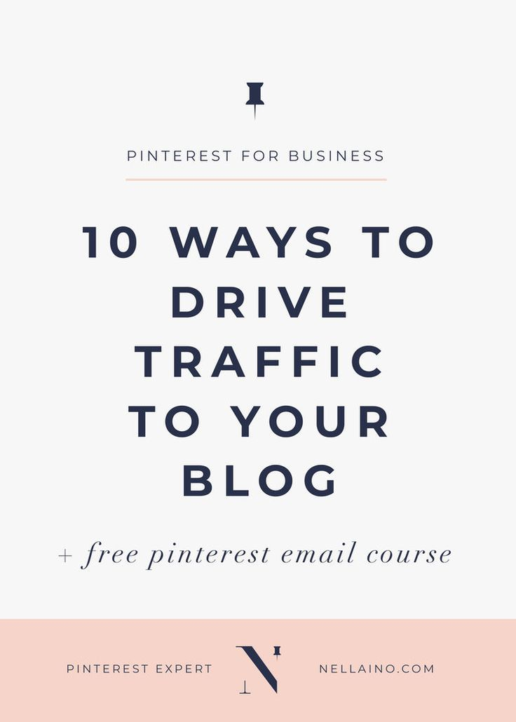 Use Pinterest to drive traffic to your blog by Nellaino. The Pinterest strategist helps you to find ways to get more visitors to your blog posts. Check out the best tips! #pinterestmarketing #pinterest #pintereststrategist #blogging #blogtips