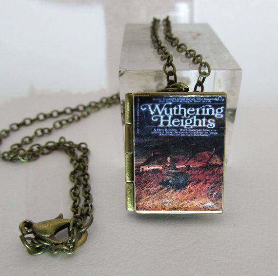 Wuthering Heights Vintage BookLocket Pendant with by Freaklikemee