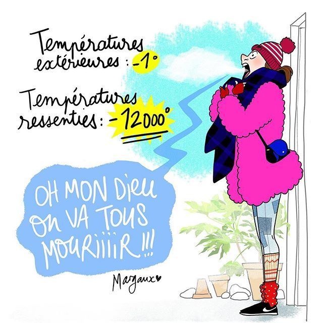 Bbrrrrrrrr #winter #illustration #margauxmotin
