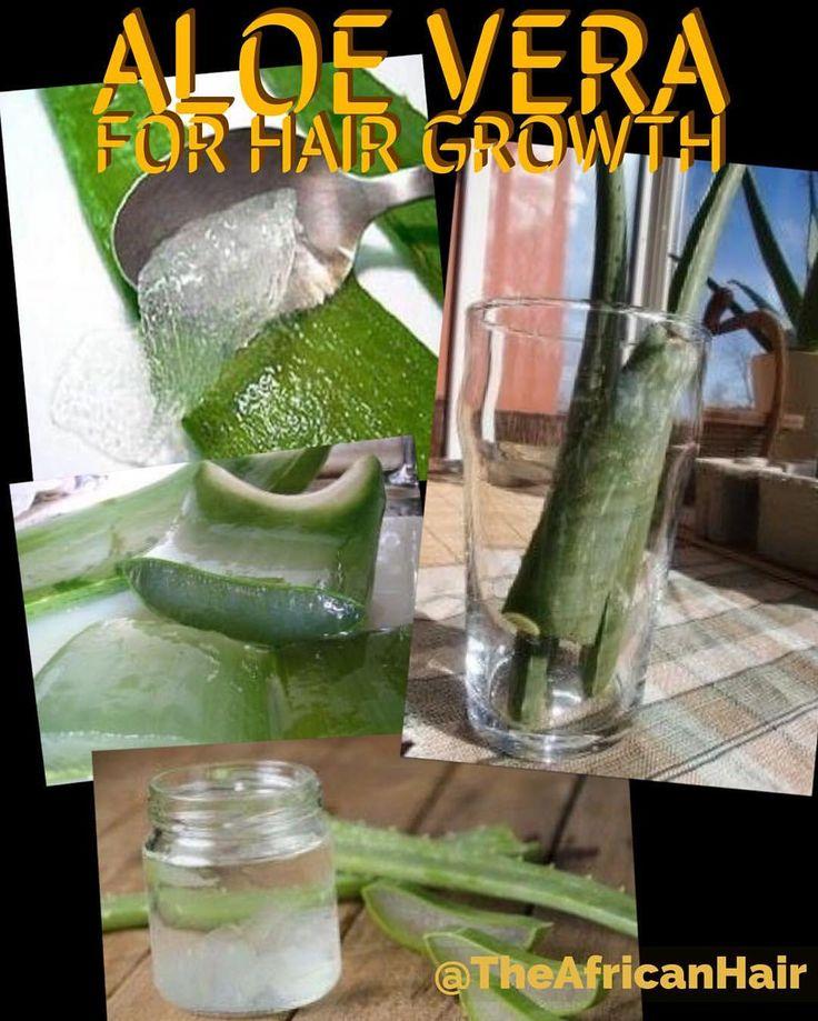Aloe vera for African Hair growh