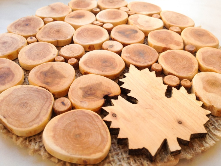 Juniper Trivet for Pans  http://stores.ebay.com/Wooden-Miracle
