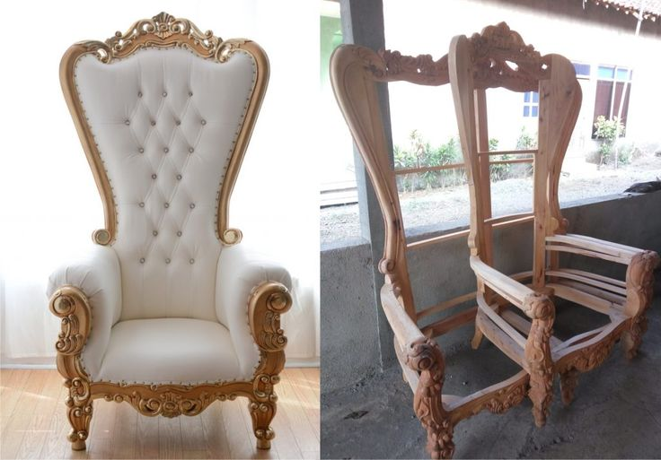 KURSI SYAHRINI - THRONE CHAIRS SYAHRINI $ 225 USD  We accept wholesale order with the best quality and reasonable price for delivery to worldwide.  We offer our best quality furniture products to you with a fairly competitive price. Price and quality of our products dare to compete with other furniture trading company.  Booking Info: �Telp / Wa: +6285312182585 �Line: sevenfurniture �Address: Jl. Taman Siswa Rt 03/02 Pekalongan Batealit Jepara, Indonesia �E-mail : seven_furniture@yahoo.co.id