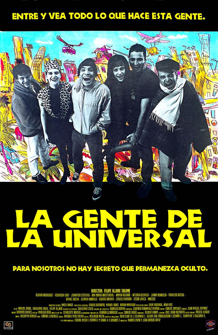 La Gente de la universal de Felipe Aljure